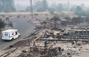 Выжженная Калифорния