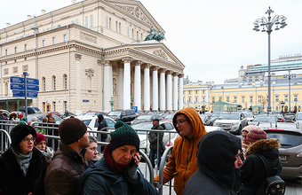 За билетами на «Нуреева» в постановке Серебренникова люди стоят с ночи