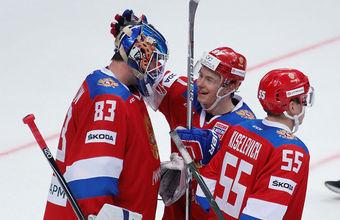 Российские хоккеисты открыли Кубок Первого канала победой