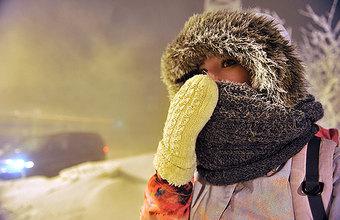 Аномальные морозы в России: до минус 57 градусов