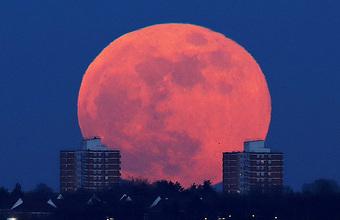 Три в одном: жители Земли увидели лунное затмение, полнолуние и суперлуние