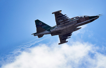 Боевики опубликовали видео со сбитым российским Су-25