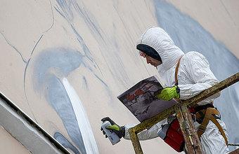 Граффити превращается в высокое искусство, которое можно продать