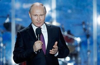 Путин поблагодарил крымчан