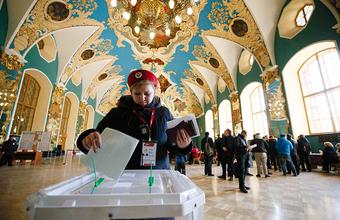 Как россияне голосовали на выборах президента
