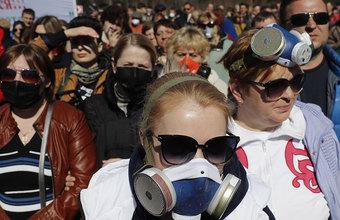 Ярославский митинг против московского мусора перетек в задержания