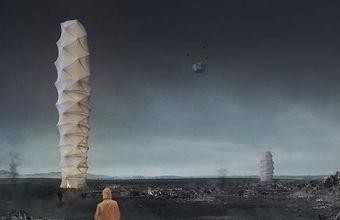 Храм, водонапорная башня и рисовое поле: самые необычные идеи для небоскребов