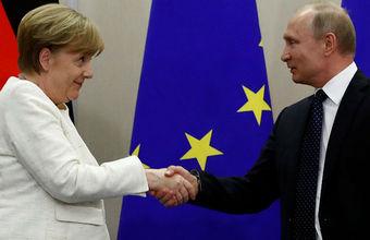 Путин и Меркель вернули в повестку вопрос миссии ООН в Донбассе