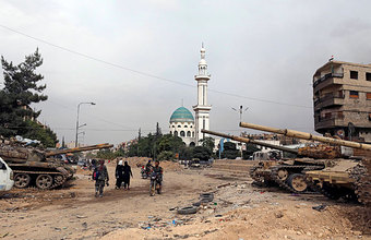 Генштаб: пригороды Дамаска очистили от боевиков