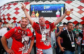 Суровые польские болельщики очарованы Москвой