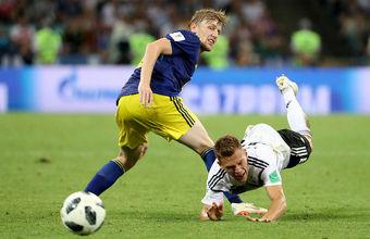 Сборная Германии одержала победу над командой Швеции в матче чемпионата мира