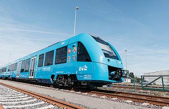 В Германии прошли испытания первого в мире пассажирского поезда на водородном двигателе