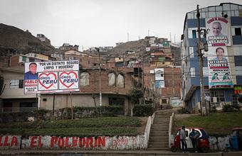 Ленин против Гитлера на выборах в Перу