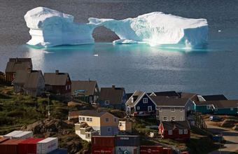 Остров тающих льдов