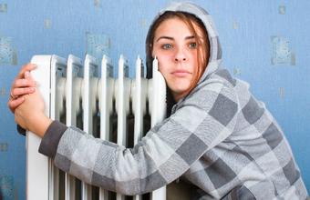 В Москве включают отопление