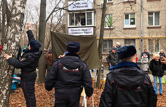 Протесты против стройки в Кунцеве: новый поворот