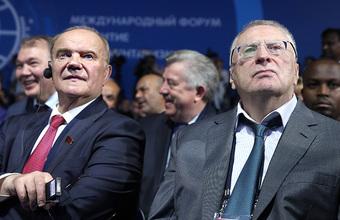 СМИ: Жириновский и Зюганов ищут встречи с Путиным