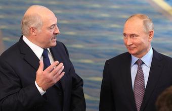 Лукашенко: Россия и Белоруссия готовы объединиться, если к этому готовы народы