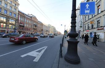В Москве с середины апреля запретят проезд по нескольким выделенным полосам в выходные