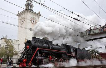 «Поезд Победы» прибыл в Симферополь