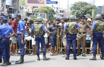 Жертвами серии взрывов на Шри-Ланке стали более 180 человек