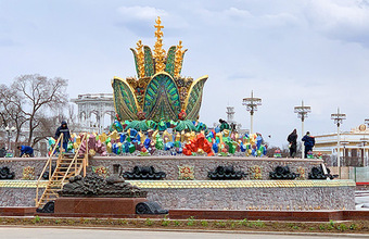 «Реставрация спорная». Новый вид фонтана «Каменный цветок» понравился не всем