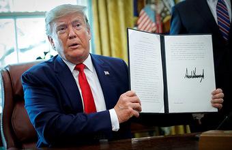 Не битьем, так санкциями: Вашингтон анонсировал жесткие ограничения в отношении Тегерана