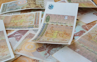 Грузинская национальная валюта установила новый антирекорд