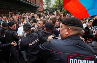 Ация в поддержку кандидатов в Мосгордуму от оппозиции