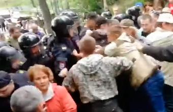 Жители Ликино-Дулева и окрестных деревень протестуют против строительства мусорного полигона