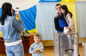 На Украине завершились внеочередные выборы в Верховную раду