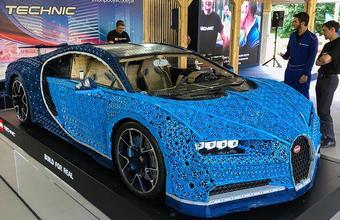 Настоящий автомобиль из кубиков Lego