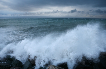 В Сочи ливни и шторм. Власти города предупредили о возможной эвакуации