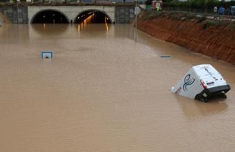 Испанию затопило