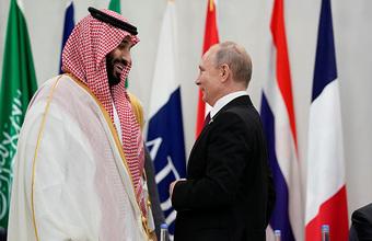 Путин поговорил с бин Салманом о ценах на нефть после атаки дронов