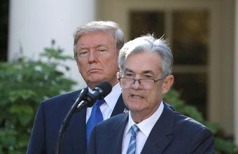 «Опять подвел». Трамп снова раскритиковал главу ФРС