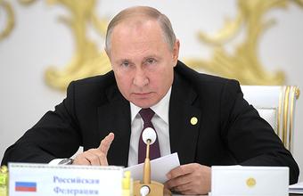 Путин: Зеленский не может обеспечить развод войск в Донбассе