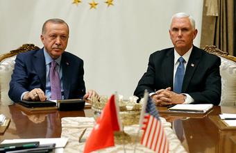 Вашингтон и Анкара договорились приостановить турецкую операцию в Сирии