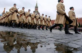 Марш на Красной площади