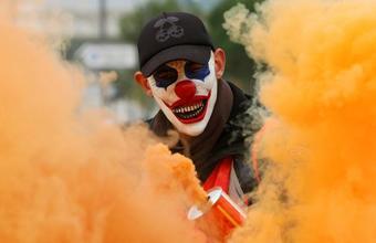 Во Франции снова протесты