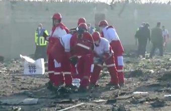 В Иране разбился пассажирский украинский Boeing