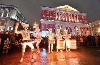 Праздничная Москва. Фотоистория на BFM.ru