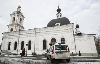 Нападение в московской церкви: мужчина ранил ножом двух алтарников