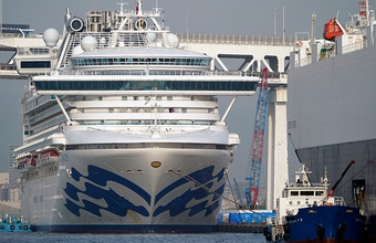 Россиянка заразилась коронавирусом на борту лайнера Diamond Princess