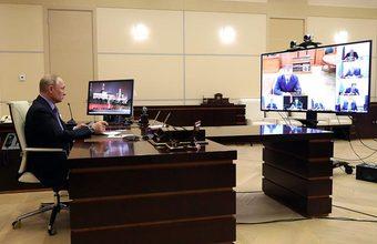 «Нужна спокойная и надежная работа». Путин дал поручения полпредам по борьбе с коронавирусом
