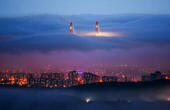 Туманный Владивосток