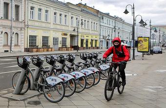 Столичные власти не будут повышать тарифы на велопрокат после его запуска 1 июня