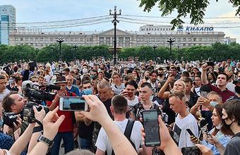 Хабаровск снова митингует из-за Фургала