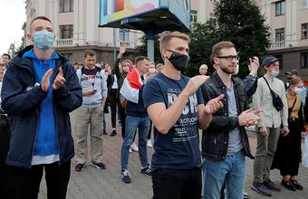 В Белоруссии начались протесты после недопуска к выборам оппозиционных кандидатов в президенты