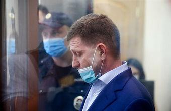 Мосгорсуд оставил губернатора Хабаровского края Фургала в «Лефортово»